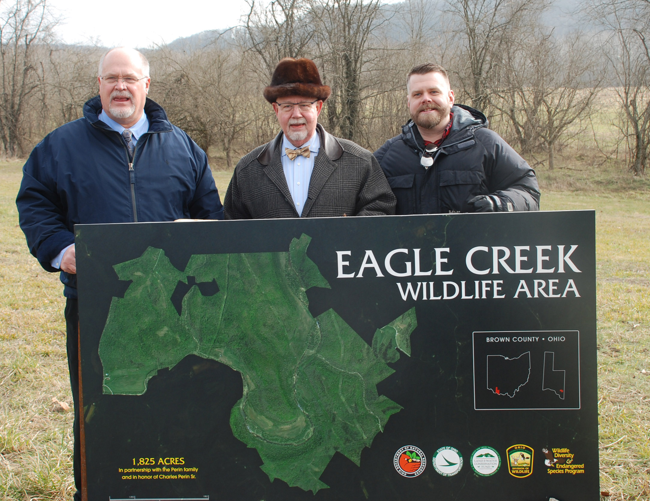 ODNR Dedicates Newest Wildlife Area – Eagle Creek Wildlife Area